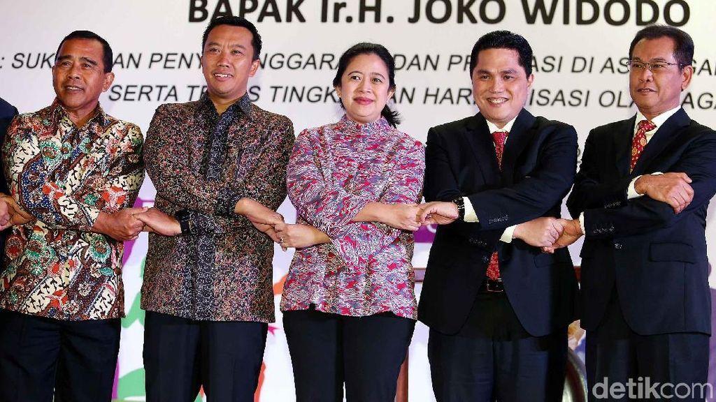 Menko PMK Ingatkan Peran Strategis KOI Sukseskan Asian Games 2018