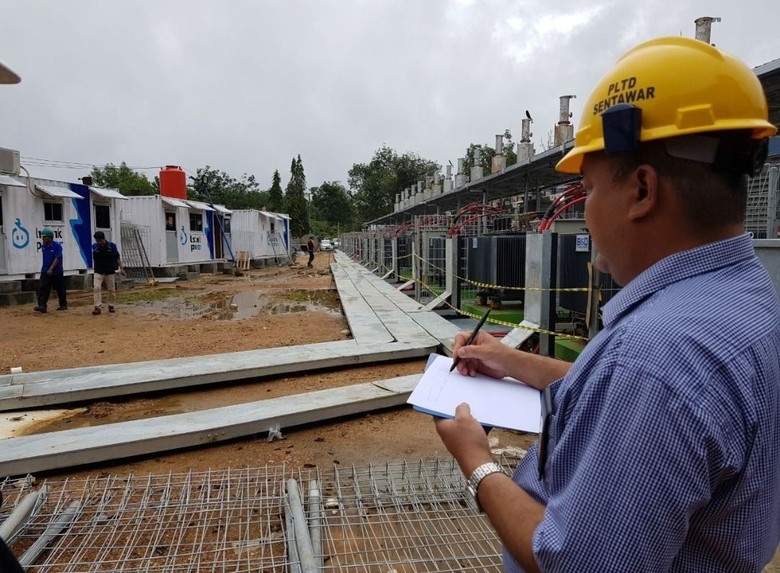 PLN Operasikan Mesin Pembangkit 17 MW di Kutai Barat