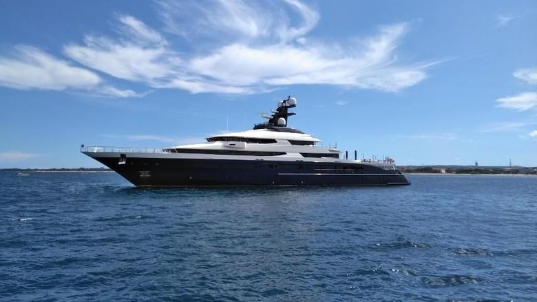 Yacht Rp 3,5 T yang Disita di Bali Terkait Skandal 1MDB Malaysia