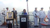 Kedubes Australia dan Menteri Susi Peringati Perang Selat Sunda