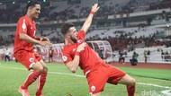 Simic Hat-trick, Persija Hajar Tampines Rovers