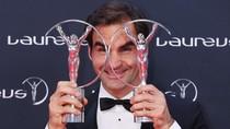 Roger Federer Raih Dua Penghargaan di Laureus Award 2018