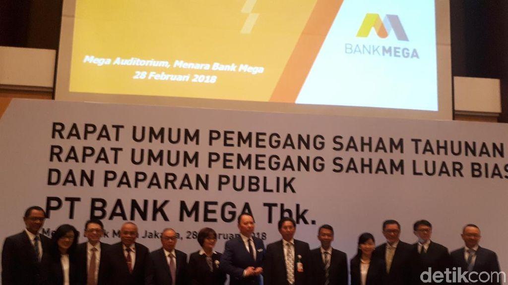 Bank Mega Raup Laba Rp 1,3 Triliun di 2017