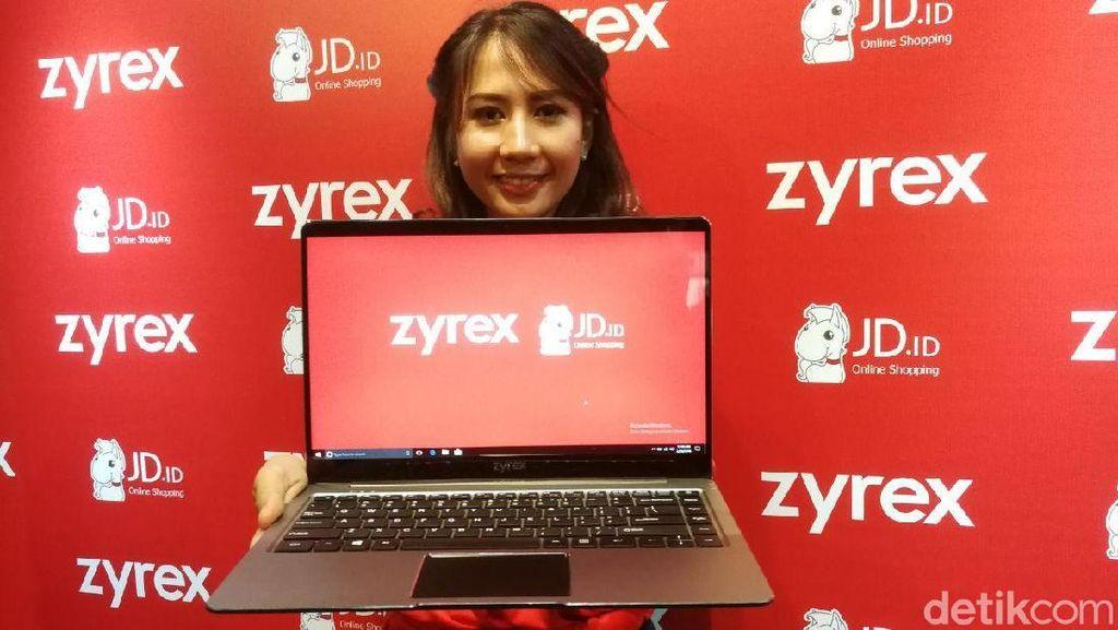 Bidik Kaum Urban, Laptop Anyar Zyrex Dijual Rp 3 Jutaan