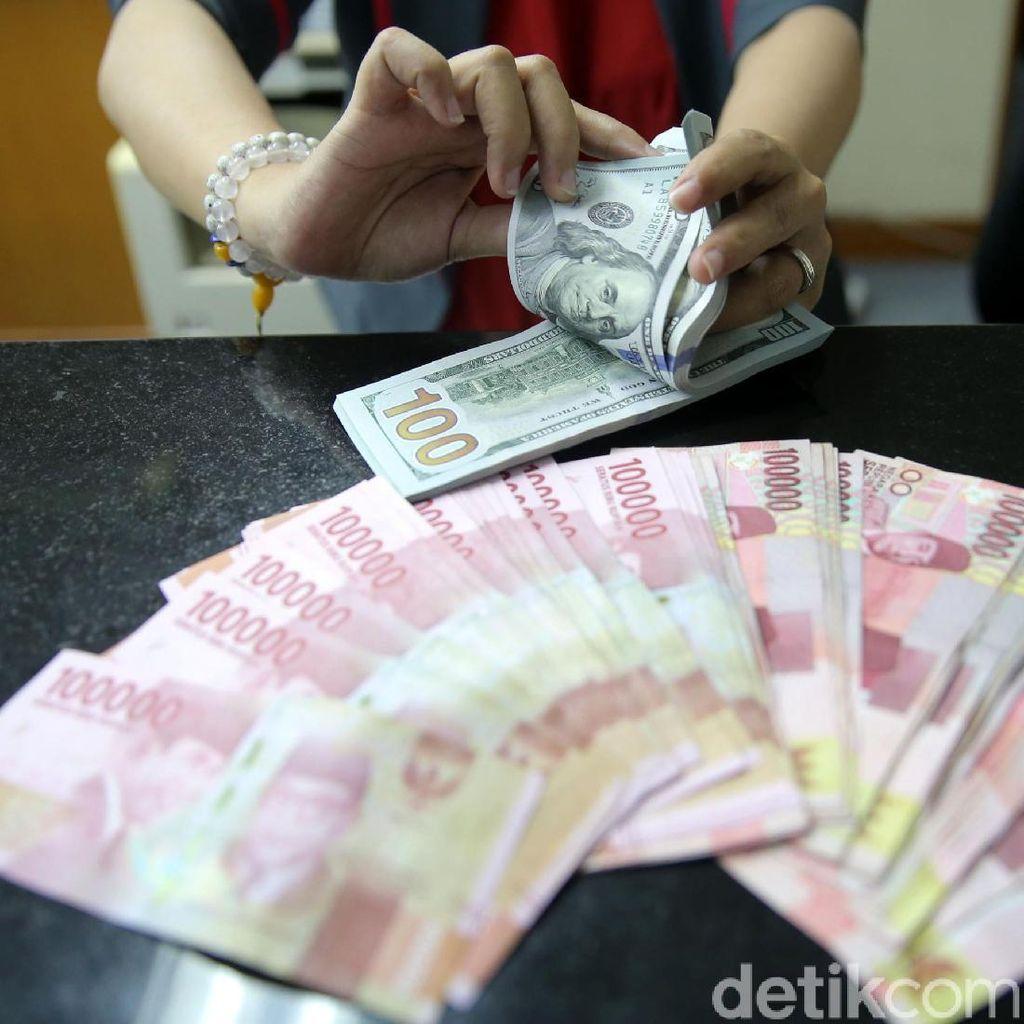 Sepanjang Februari, Rupiah Sudah Melemah 1,65% Terhadap Dolar AS