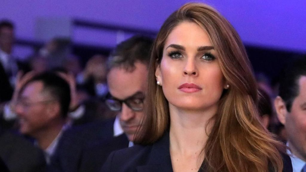 Pesona Hope Hicks, Mantan Model yang Jadi Tangan Kanan Donald Trump