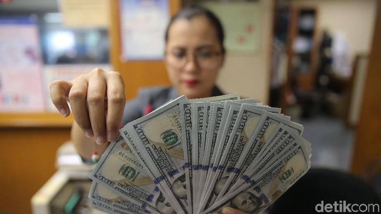 Foto: Ilustrasi dolar AS (Agung Pambudhy/detikFoto)