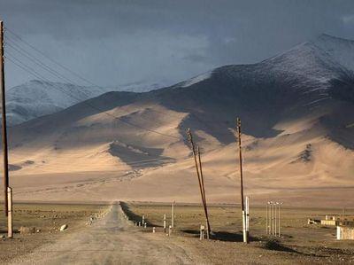 Jalanan Tertinggi Kedua Dunia yang Mene   mbus Awan