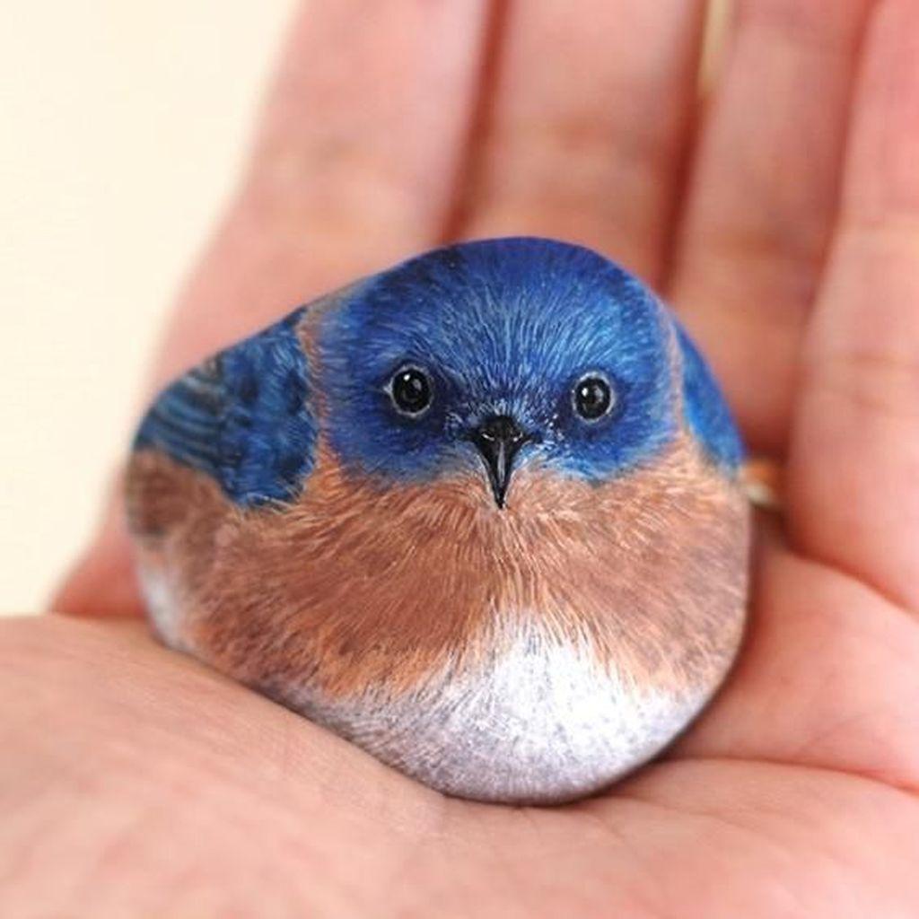 <i>Cute</i>! Hewan-hewan Kecil Ini Terbuat dari Batu
