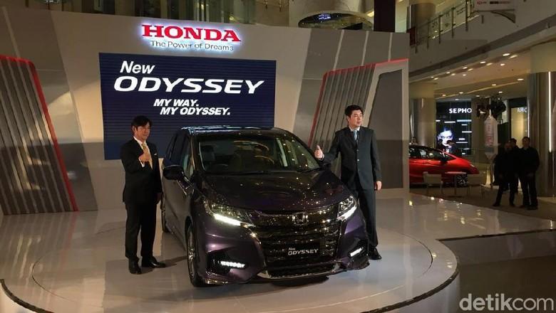 Honda Meluncurkan Odyssey Model 2018