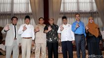 Aher Ikut, Begini Suasana Pertemuan Koalisi ASYIK di Rumah Prabowo