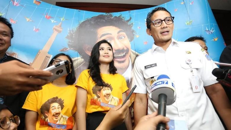 Nobar Benyamin Biang Kerok, Sandiaga Uno Apresiasi Film Budaya Betawi