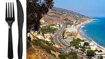 Demi Menjaga Lingkungan, Alat Makan dan Sedotan Plastik Dilarang di Malibu