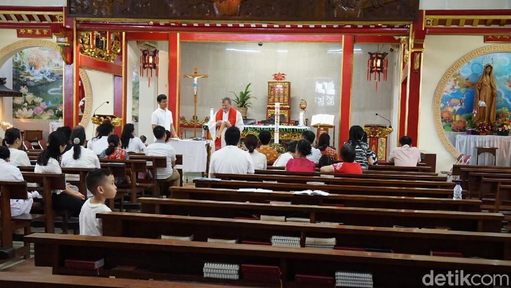 Foto: Gereja Katolik Tua di Pecinan Jakarta