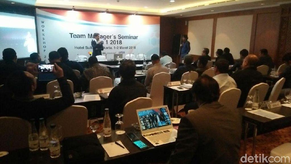 Alasan Manajer Persebaya dan Sriwijaya FC Absen di Seminar PT LIB