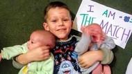 Kisah Balita Donor Sumsum Tulang Belakang untuk Adik Kembarnya