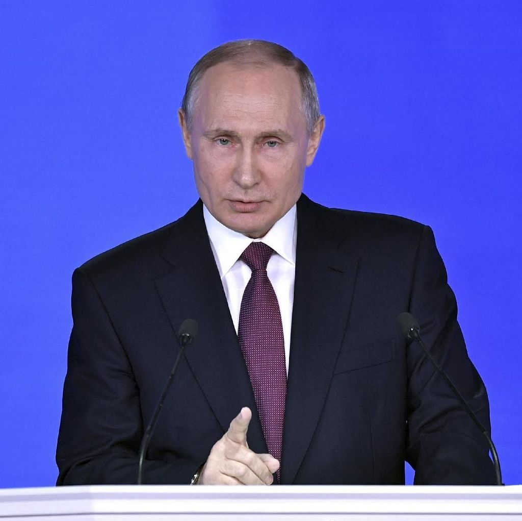 Rusia Gelar Pilpres Besok, Putin Diprediksi Menang Mudah