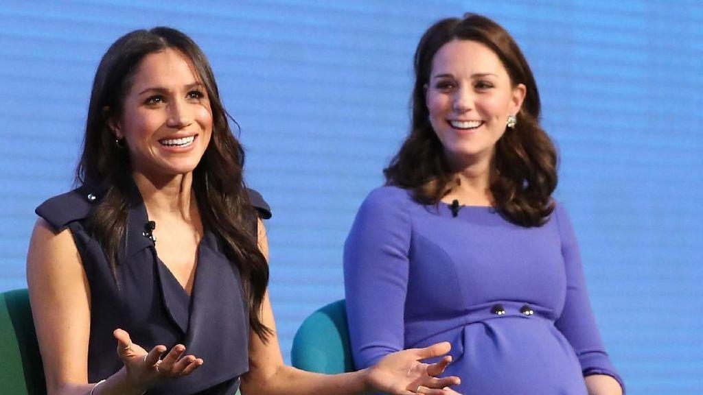 Meghan Markle Pakai Gaun 1000% Lebih Mahal dari Kate Middleton