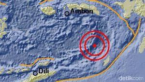 Analisis BMKG soal Gempa 5,9 SR di Maluku