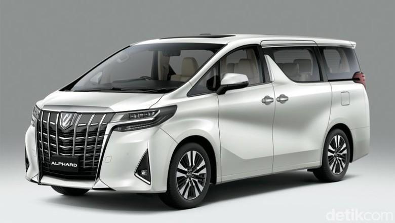 Ada Model Baru, Toyota Naikkan Harga Alphard Sampai Rp 50 Juta