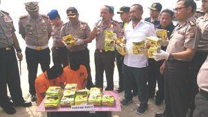 Polisi Tangkap Nelayan Palsu Penyelundup 18 Kg Sabu