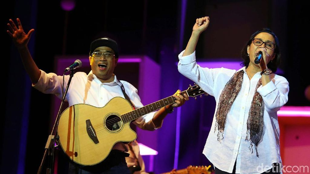Sri Mulyani hingga Menhub Goyang Java Jazz