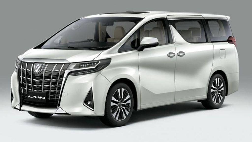 Toyota Alphard, Fortuner dan Innova Antar Atlet Asian Games