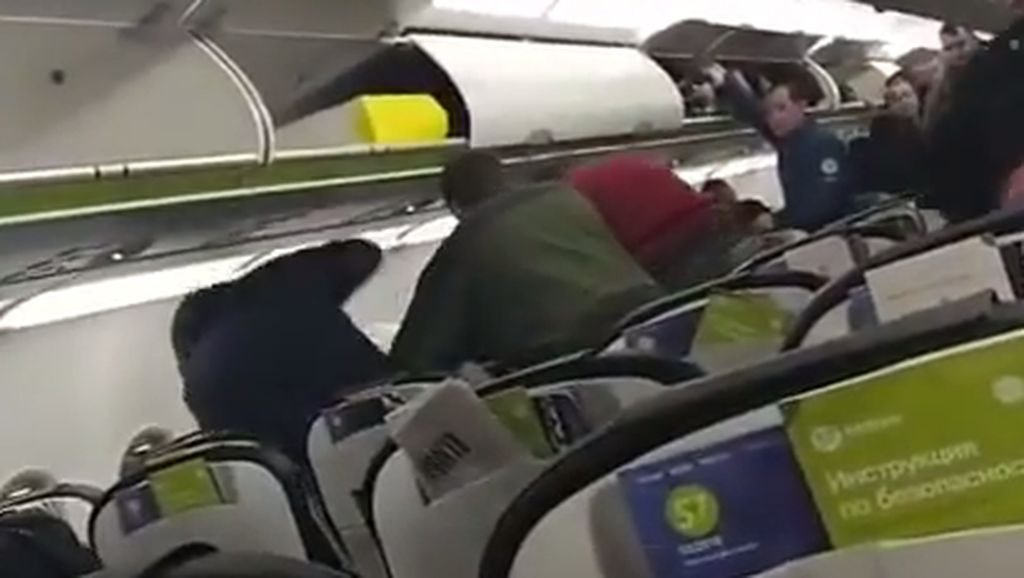 Diduga Sakit Jiwa, Pria Ini Lakukan Pelecehan Seksual di Pesawat