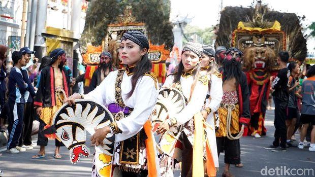 Perayaan Cap Go Meh di Kota Magelang.