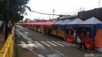 PKL tak Masalah Jl Jatibaru Dibuka Asal Direlokasi ke Tempat Ramai