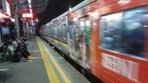 Rel Patah KRL Bogor-Jakarta Teratasi, Perjalanan Kembali Normal