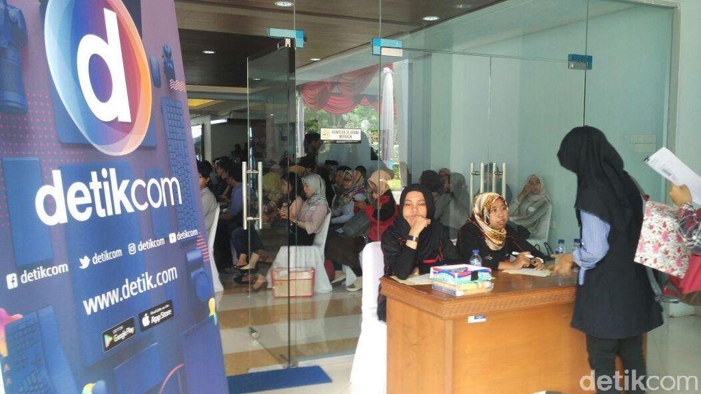 Peserta Lowongan Transmedia di Jakarta Tembus 10.555 Orang
