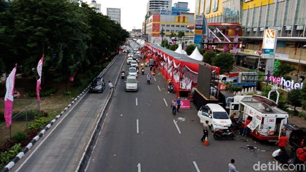 Karnaval Cap Go Meh Glodok Usai, Jl Hayam Wuruk Kembali Dibuka