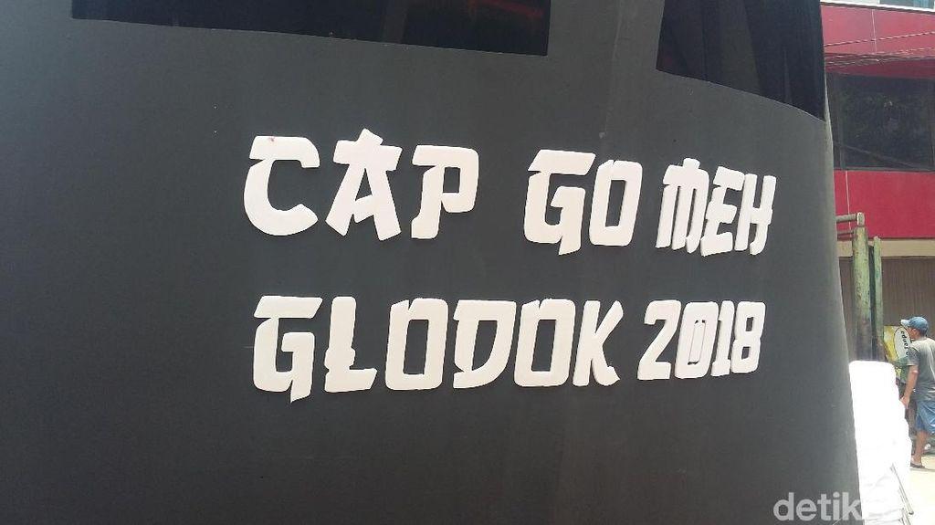 Mengintip Persiapan Karnaval Cap Go Meh di Glodok