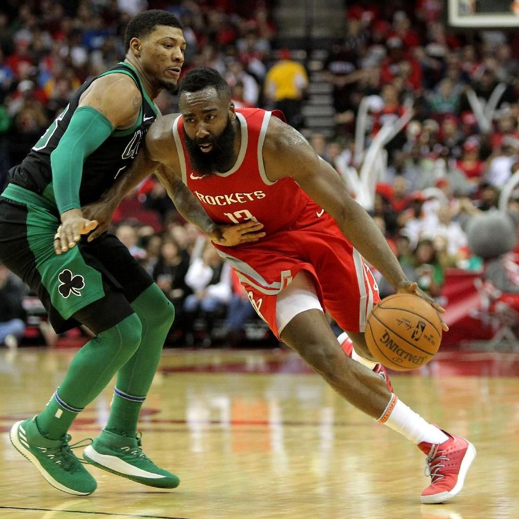 Bekuk Celtics, Rockets Menang 15 Gim Beruntun