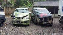 Dua Minibus Tabrakan di Salawu Tasikmalaya, 10 Orang Luka