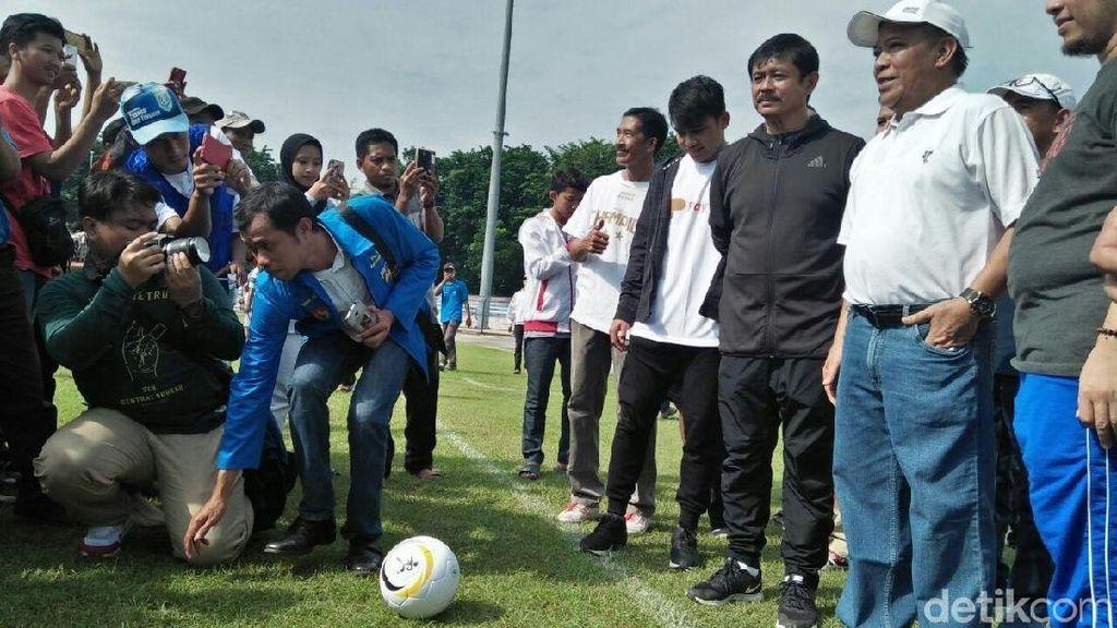 Indra Sjafri Buka Peluang Bangun Akademi di Lamongan
