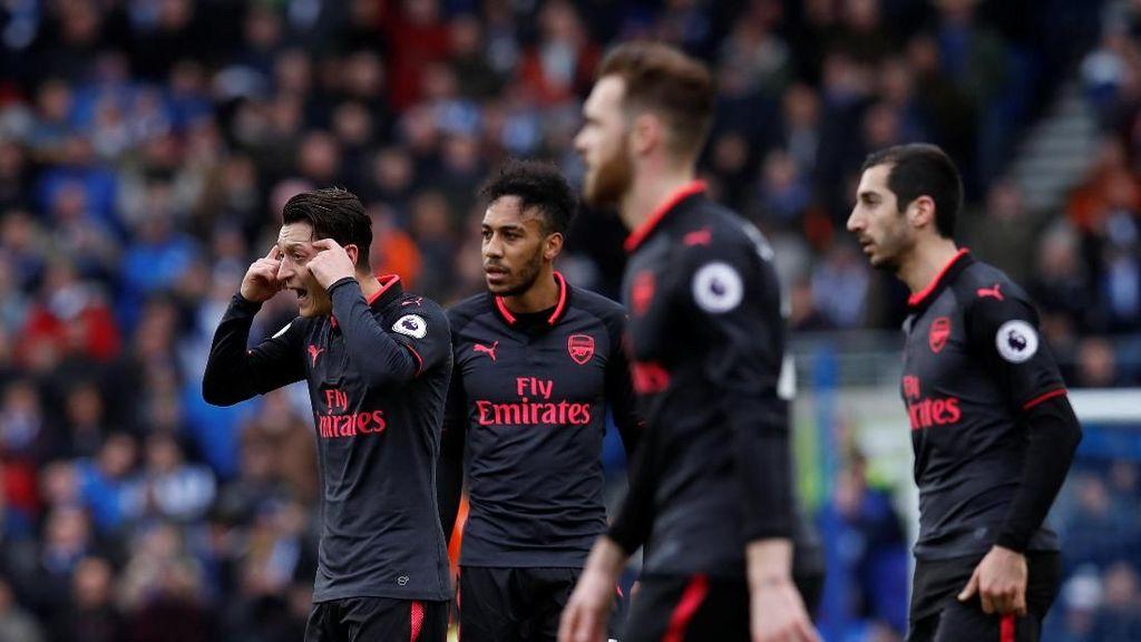 Rentetan Kekalahan Terburuk Arsenal Sejak 2002