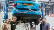 Ini Kesan Bule yang Mobil Listriknya Mogok Tentang Surabaya