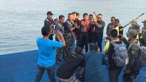Berenang 9,5 Jam di Selat Sunda, Begini Cara Kopda Budi Makan-Minum