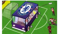 Meme Lucu Soal Chelsea Parkir Bus Lawan City