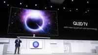 Samsung Siap Rilis TV QLED Berfitur Bixby