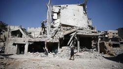 Sekolah di Ghouta Timur Dihantam Rudal, 15 Anak-anak Tewas