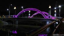 Risma Beri Nama Jembatan Cantik Ratna Dengan Ujung Galuh