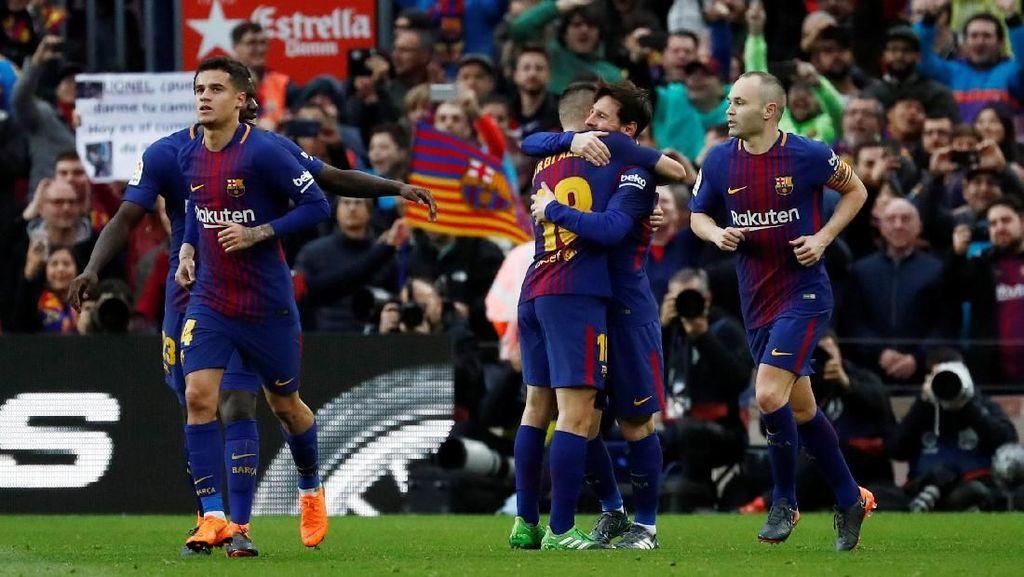 Langkah Penting Barcelona Menuju Gelar Juara