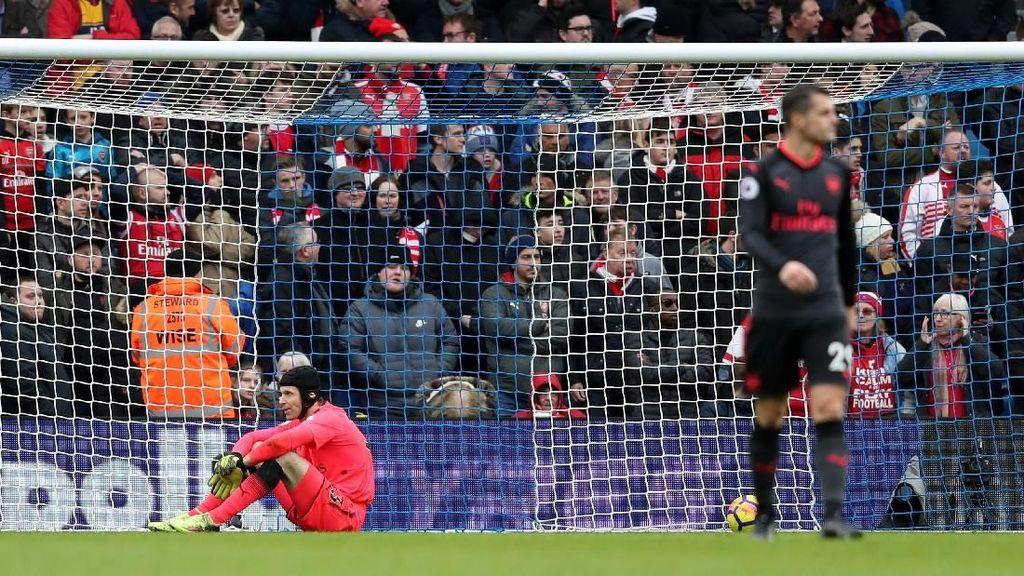 Kesalahan Defensif Arsenal Paling Banyak di Lima Liga Top Eropa