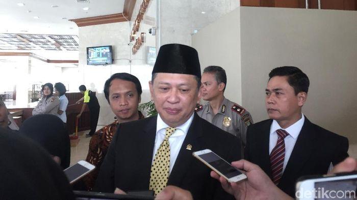 Foto: Ketua DPR Bamsoet (Gibran-detikcom)