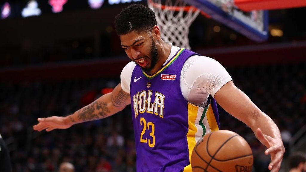 Hantam Mavericks, Pelicans Raih 8 Kemenangan Beruntun