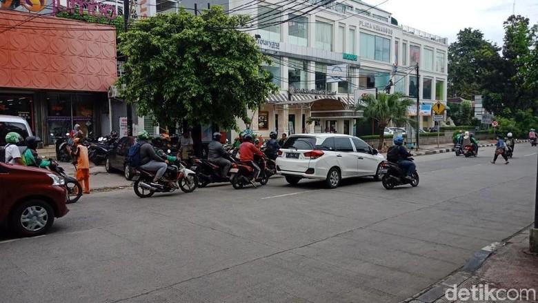 Foto: Ini Lokasi Penyerangan Geng Motor di Kemang yang Viral