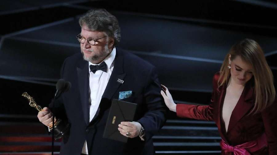 Ada Amphibi di Backstage, The Shape of Water Rajai Oscar